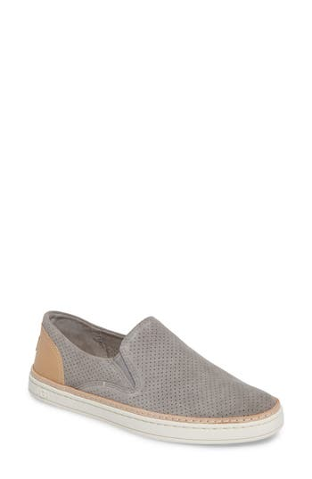 Ugg Adley Slip-On Sneaker, Grey
