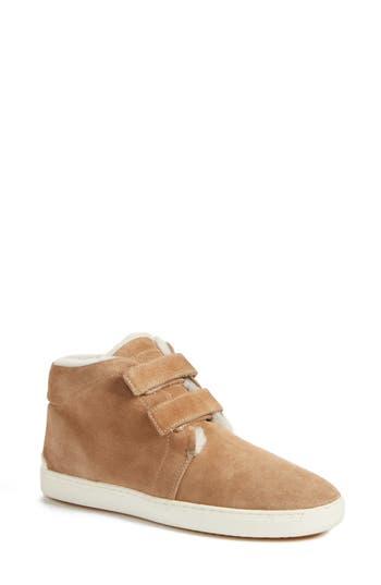 Rag & Bone Kent Genuine Shearling Lined Sneaker, Brown