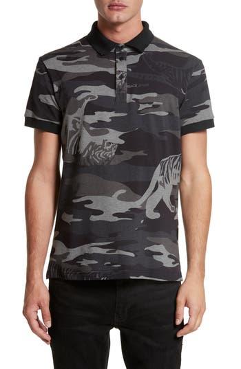Versace Jeans Camo Tiger Polo
