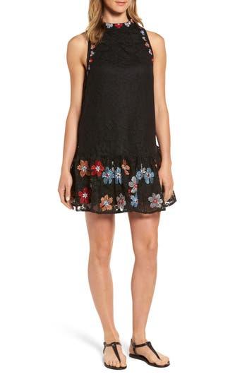Women's Kas New York Cynthia Drop Waist Lace Dress
