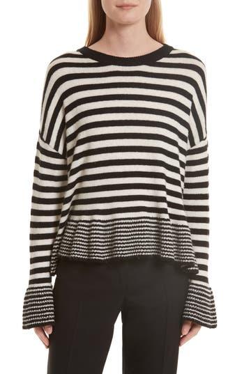 Women's Cinq À Sept Seren Stripe Pullover