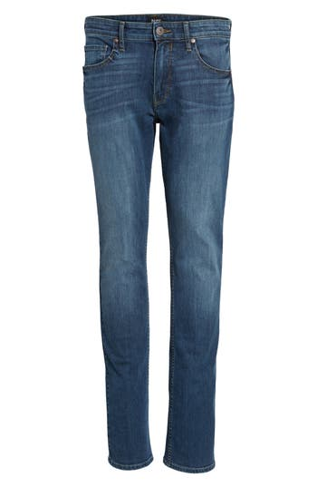 Paige Legacy - Federal Slim Straight Fit Jeans, Blue