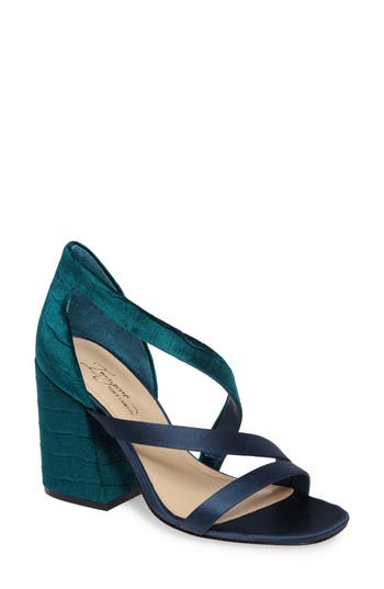 Imagine By Vince Camuto Abi Sandal, Blue/green