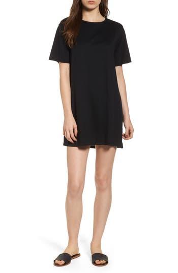 Pst By Project Social T Tie Back T-Shirt Dress, Black