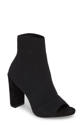 Kenneth Cole New York Dahvi Open Toe Bootie, Black
