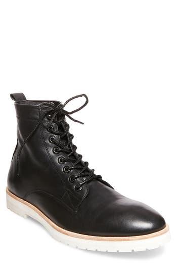 Steve Madden X Gq Andre Plain Toe Boot, Black