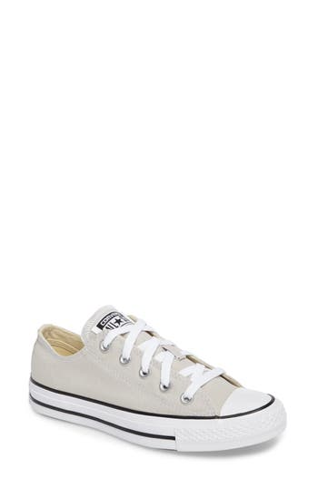 Converse Chuck Taylor All Star Seasonal Ox Low Top Sneaker- Beige