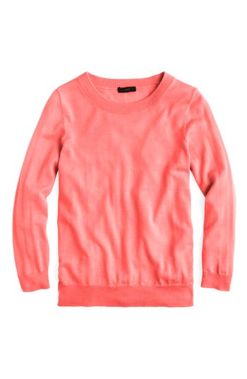 J.crew Tippi Merino Wool Sweater, Coral