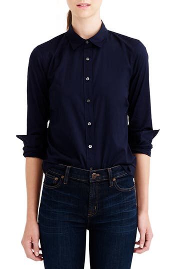 Women's J.crew Stretch Perfect Shirt