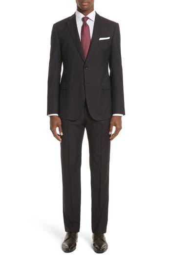 Men's Emporio Armani Trim Fit Solid Wool Suit