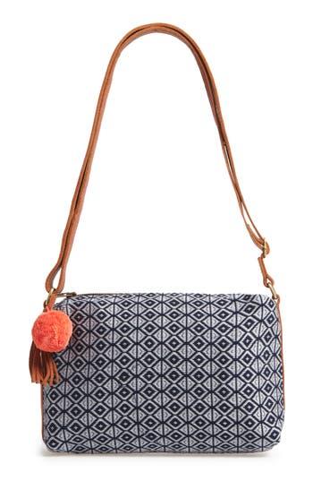 Mercado Global Maribel Woven Crossbody Bag - Blue