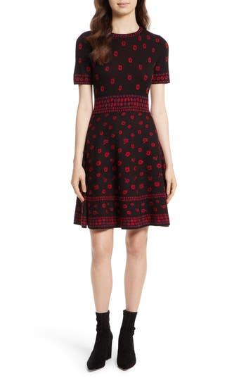 Kate Spade New York Poppy Sweater Dress, Black