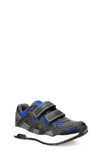 Boys Geox Pavel Sneaker Size 5.5US  38EU  Black