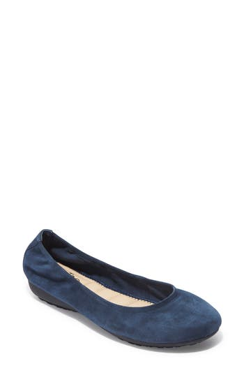 Me Too Janell Sliver Wedge Flat, Blue