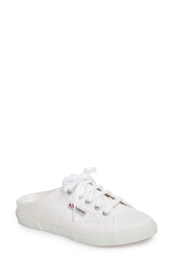 Superga 2288 Sneaker Mule, White