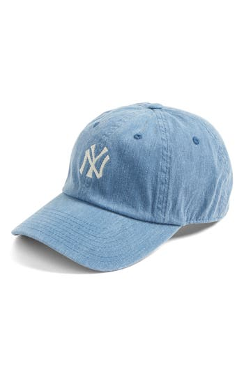 Women's American Needle Danbury New York Yankees Baseball Cap - Blue