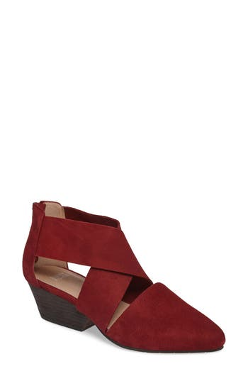 Eileen Fisher Vera Strappy Pump, Burgundy