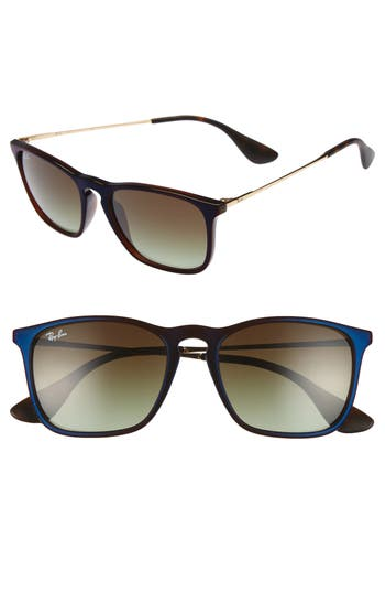 Ray-Ban Youngster 5m Square Keyhole Sunglasses - Clear Brown