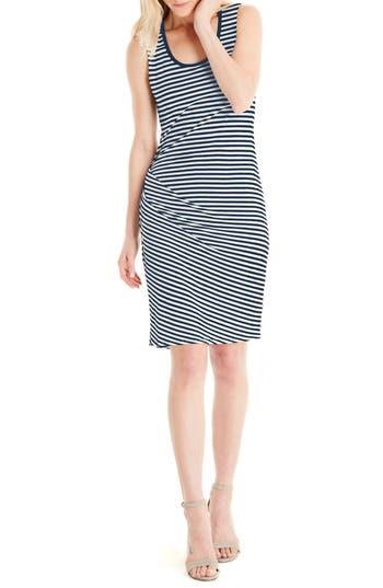 Michael Stars Stripe Tank Dress, Blue