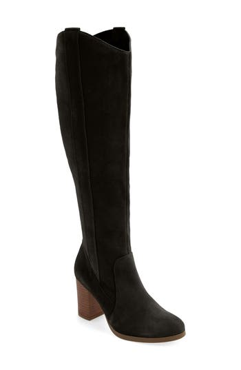 Sole Society Benedict Over The Knee Boot, Black