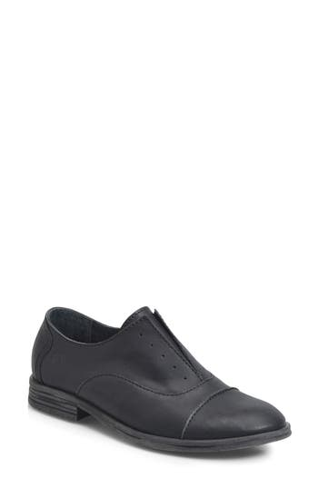 B?rn Forato Slip-On Oxford, Black