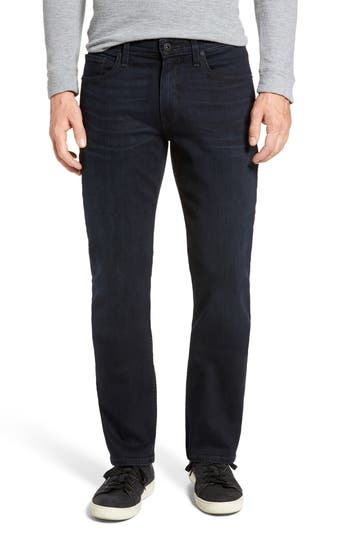 Paige Doheny Relaxed Straight Leg Jeans, Blue