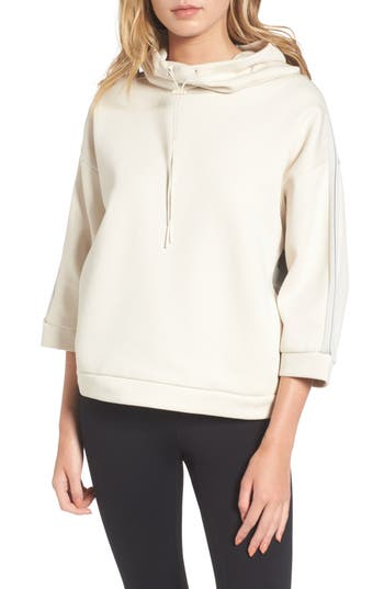 Puma Funnel Neck Pullover, White