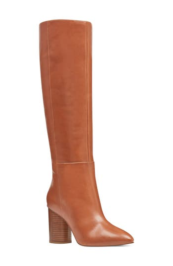 Nine West Christie Knee High Boot- Brown