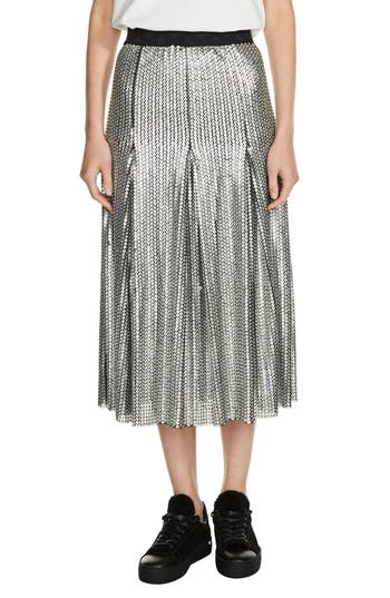 Women's Maje Sequin Midi Skirt