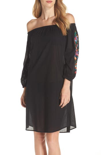 La Blanca Cover-Up Dress, Black