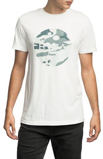 Rvca Stash Motors Graphic T-Shirt, White