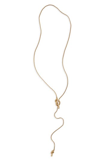 Madewell 'Knotshine' Necklace