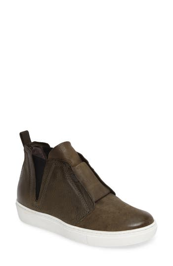 Miz Mooz Laurent High Top Sneaker, Green
