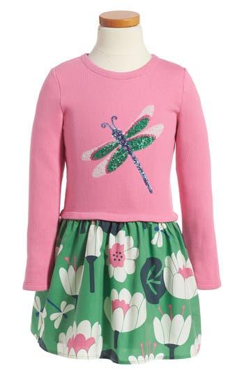 Toddler Girl's Mini Boden Sequin Appliqué Dress