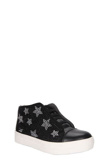 Girls Nina Ana Star Studded Mid Top Sneaker
