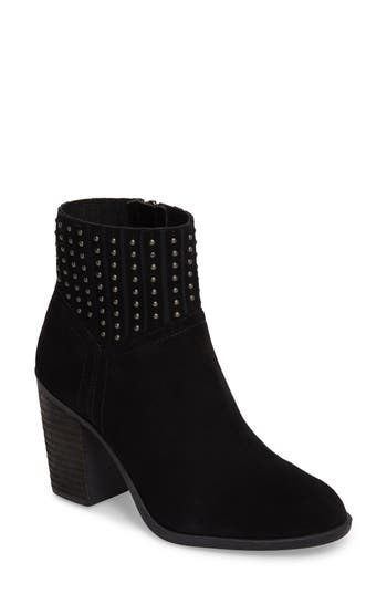 Lucky Brand Salome Embellished Bootie- Black