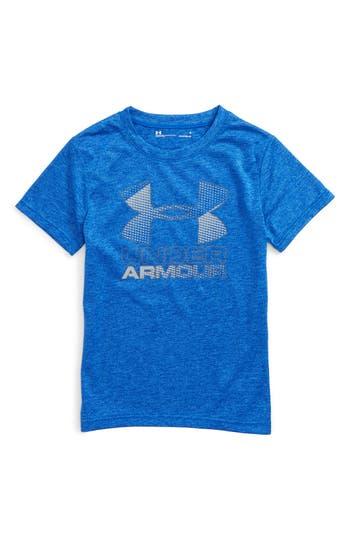 Toddler Boy's Under Armour Big Logo Heatgear T-Shirt