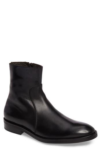 To Boot New York Commodore Zip Boot, Black