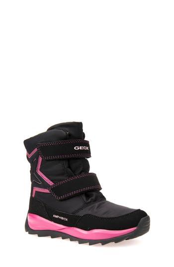 Girl's Geox Orizont Abx Waterproof Boot