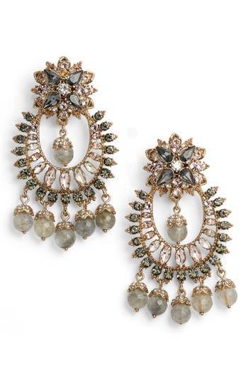 Women's Marchesa Drama Crystal Earrings