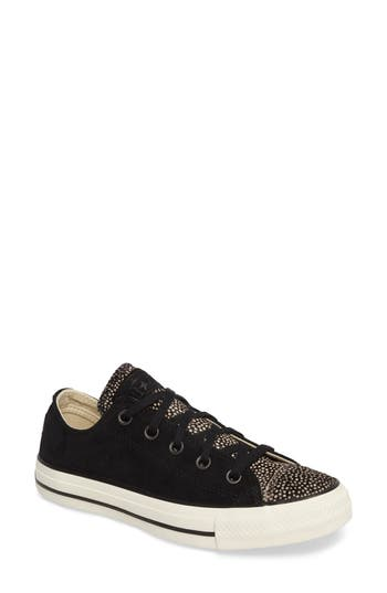 Chuck Taylor All Star Ox Genuine Calf Hair Sneaker- Black