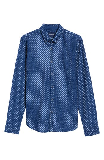 Men's Scotch & Soda Slim Fit Allover Print Shirt
