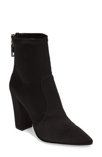 Dolce Vita Elana Stretch Sock Bootie, Black