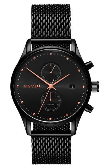 Mvmt Voyager Chronograph Mesh Strap Watch, 42Mm