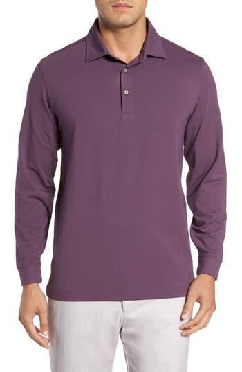 Men's Bobby Jones 'Liquid Cotton' Long Sleeve Jersey Polo