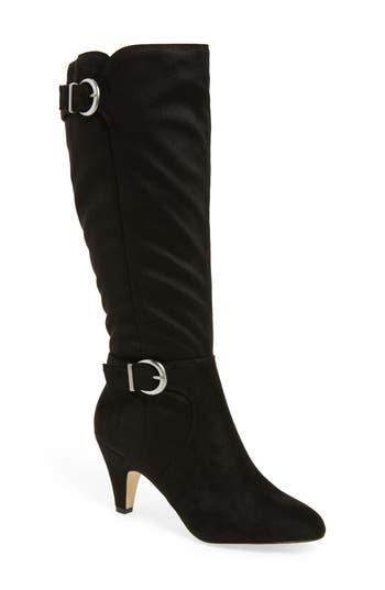 Bella Vita Toni Ii Knee High Boot Wide Calf- Black