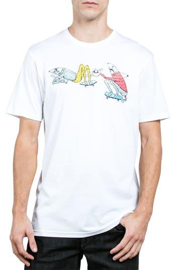 Volcom Pangeaseed Graphic T-Shirt, White