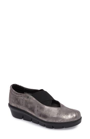 Wolky Cursa Slip-On Sneaker - Grey