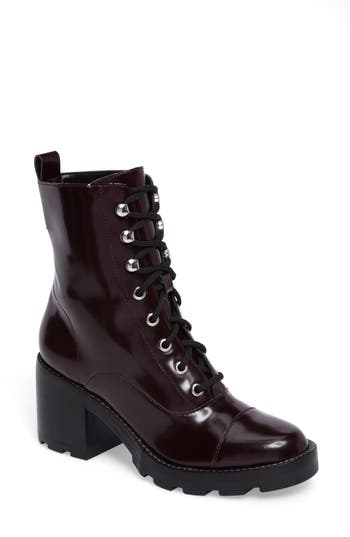 Marc Fisher Ltd Wanya Boot- Burgundy