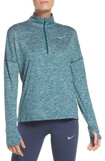 Nike Dry Element Half Zip Top, Green